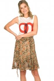 Munthe | Skirt Chloe | beige  | Picture 2