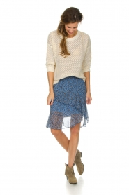 Munthe | Skirt Milou | blue  | Picture 3