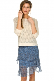 Munthe | Skirt Milou | blue  | Picture 2