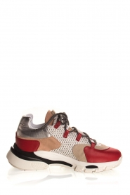 Toral | Leather sneakers Talla | red