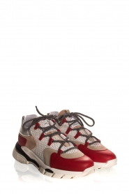 Toral | Leather sneakers Talla | red  | Picture 4