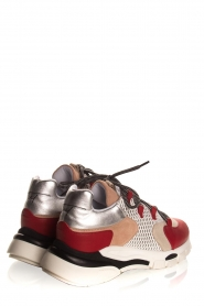 Toral | Leather sneakers Talla | red  | Picture 5
