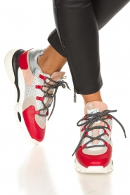 Toral | Leather sneakers Talla | red  | Picture 3
