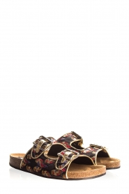 Toral |  Printed sandals Birds | black  | Picture 3