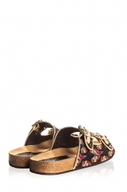 Toral |  Printed sandals Birds | black  | Picture 4
