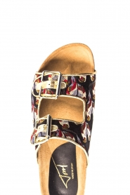 Toral |  Printed sandals Birds | black  | Picture 6