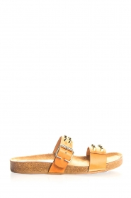 Toral |  Studded leather sandals Yaella | camel  | Picture 2