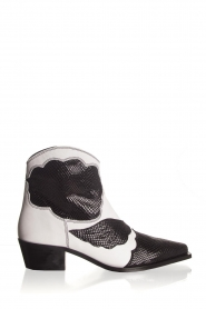 Toral |  Ankle boots Jane | black & white  | Picture 1