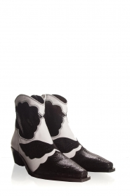Toral |  Ankle boots Jane | black & white  | Picture 5