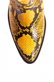Toral |  Ankle boots with snakes print Ambra | yellow  | Picture 6
