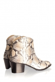 Toral |  Ankle boots with snakes print Ambra | beige  | Picture 5