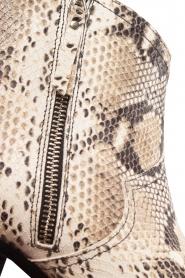 Toral | Enkellaarzen met slangenprint Ambra | beige  | Afbeelding 7