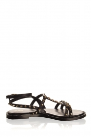 Toral | Leather sandals Mira | black  | Picture 1
