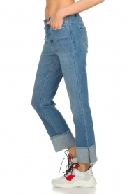 Lois Jeans |  Jeans with turned trouser legs Stone | blue  | Picture 4