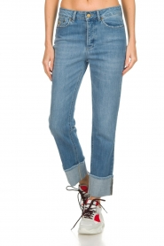 Lois Jeans |  Jeans with turned trouser legs Stone | blue  | Picture 2
