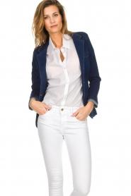 Lois Jeans | Denim blazer Luna | blue  | Picture 2