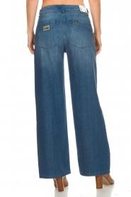 Lois Jeans | Katoenen jeans met ceintuur Noemi | blauw  | Afbeelding 5