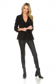 Arma |  Leather pants with zip pockets Cadiz | black  | Picture 2