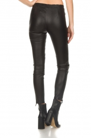 Arma |  Leather pants with zip pockets Cadiz | black  | Picture 5