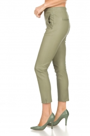 Arma |  Leather pants Provence | green  | Picture 3