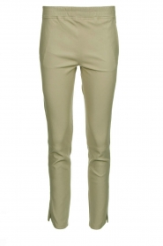 Arma |  Leather pants Provence | green  | Picture 1