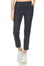 Arma |  Leather pants Provence | blue  | Picture 3