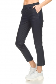 Arma |  Leather pants Provence | blue  | Picture 4