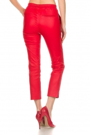 Arma |  Leather pants Provence | red  | Picture 5