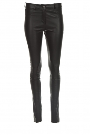 Arma |  Leather pants Brandice | black  | Picture 1