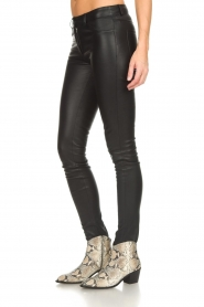 Arma |  Leather pants Brandice | black  | Picture 4