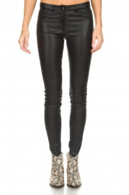 Arma |  Leather pants Brandice | black  | Picture 3