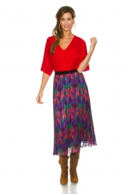 ba&sh |  Printed maxi skirt Paolo | multi  | Picture 3