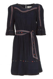 ba&sh |  Embroidered dress Plaza | blue  | Picture 1