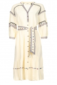ba&sh |  Embroidered blouse dress Patty | natural  | Picture 1