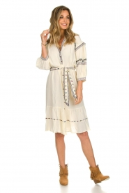 ba&sh |  Embroidered blouse dress Patty | natural  | Picture 3