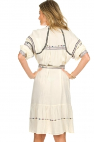 ba&sh |  Embroidered blouse dress Patty | natural  | Picture 6
