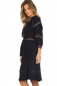 ba&sh |  Embroidered blouse dress Patty | blue  | Picture 5