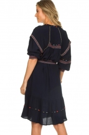 ba&sh |  Embroidered blouse dress Patty | blue  | Picture 6