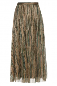 ba&sh |  Glitter maxi skirt Susan | multi  | Picture 1