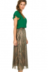 ba&sh |  Glitter maxi skirt Susan | multi  | Picture 4