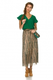 ba&sh |  Glitter maxi skirt Susan | multi  | Picture 3