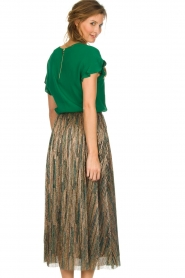 ba&sh |  Glitter maxi skirt Susan | multi  | Picture 5