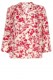 ba&sh |  Blouse with floral print Eddy| natural  | Picture 1