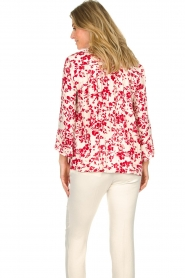 ba&sh |  Blouse with floral print Eddy| natural  | Picture 5