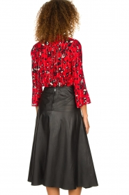 ba&sh |  Blouse with print Victoria | red  | Picture 5