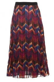 ba&sh |  Midi skirt with print Paolo | multi  | Picture 1