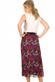 ba&sh |  Midi skirt with print Paolo | multi  | Picture 5