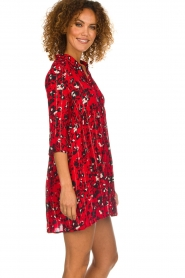 ba&sh |  Dress with print Erine | red  | Picture 5
