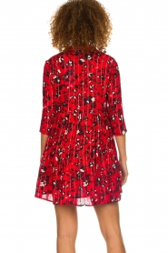 ba&sh |  Dress with print Erine | red  | Picture 6