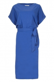 ba&sh |  Midi wrap dress Clare | blue  | Picture 1